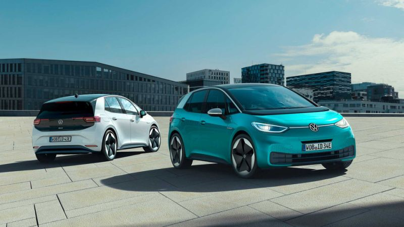Volkswagen raises sales goal to 1.5 million ID. EVs by 2025
