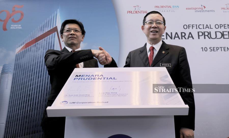 Guan Eng: Govt likely to revise target for life insurance penetration rate