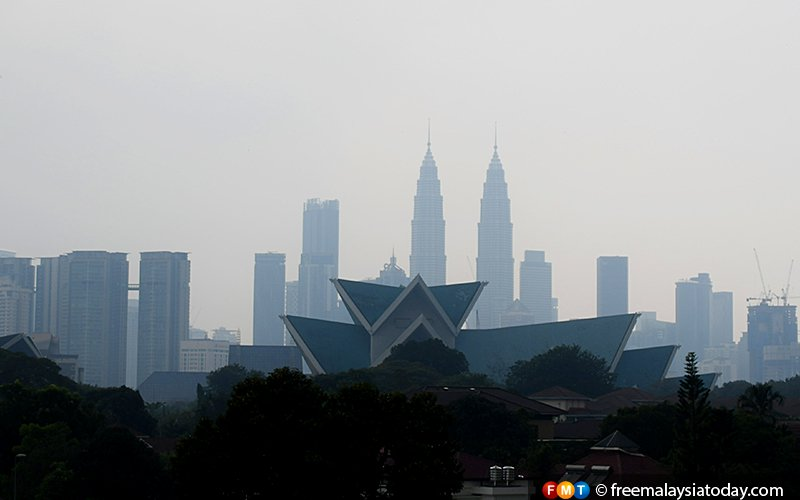 Haze continues as Rompin hits very unhealthy level