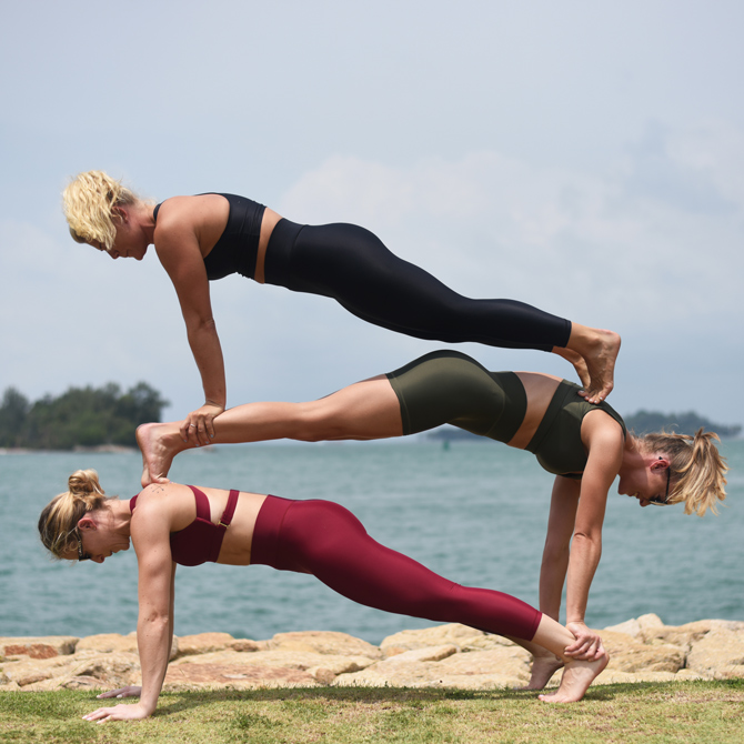 Local activewear brand Outfyt launches a sustainable collection ECO LUXE, made from recycled fishing nets