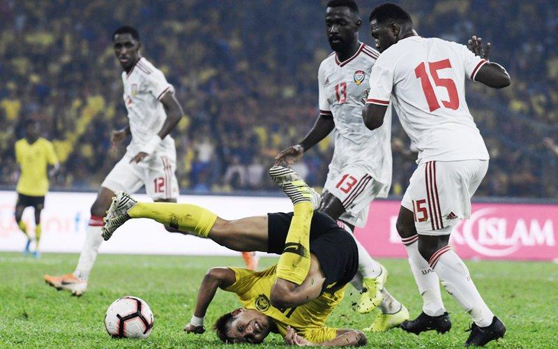 Harimau Malaya go down 1-2 to UAE after taking early lead