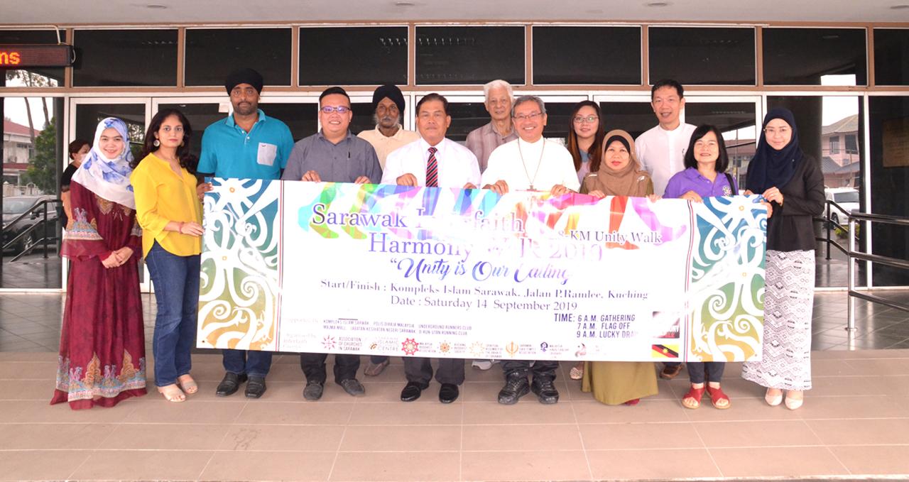 Third Harmony Walk to unite Sarawakians of various faiths
