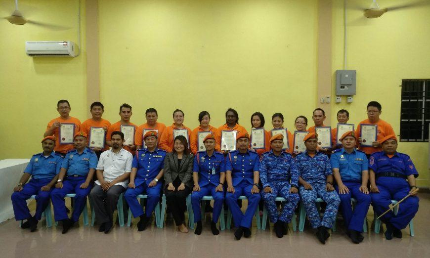 First-ever CDERT in Sungai Pinang