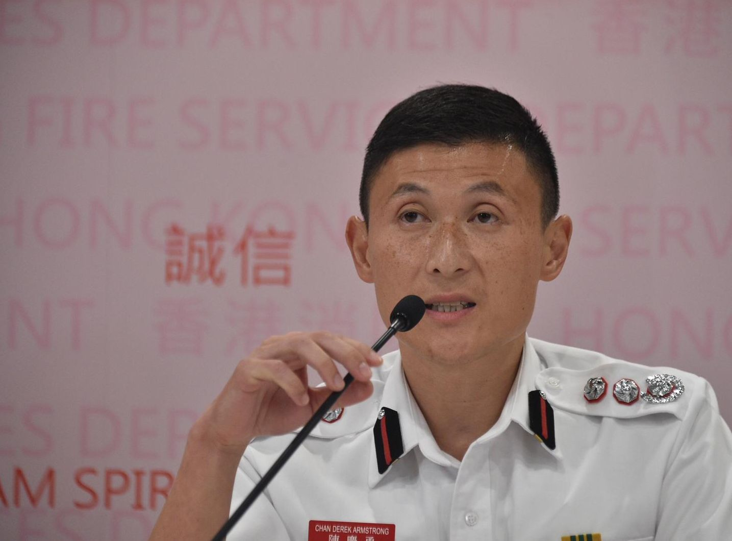 【修例风波】重申无看到死亡个案 消防:这是消防处对香港市民的保证