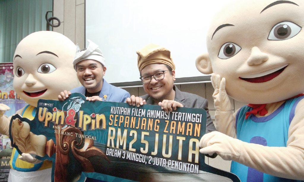 Upin & Ipin movie nets RM25m, bags international award