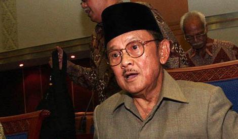 Ex-Indonesian president BJ Habibie dies