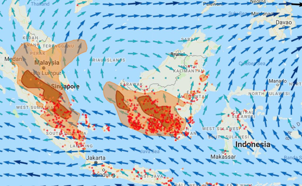 Air quality drops out of 'unhealthy' category in Kuching as API falls below 100