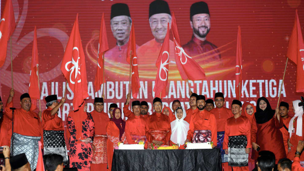 Learn from UMNO's mistakes, Mahathir tells party members