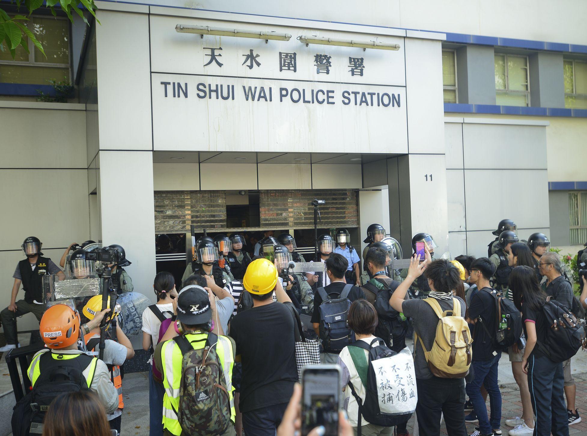 【修例风波】明日天水围游行被警反对 发起人提上诉被驳回