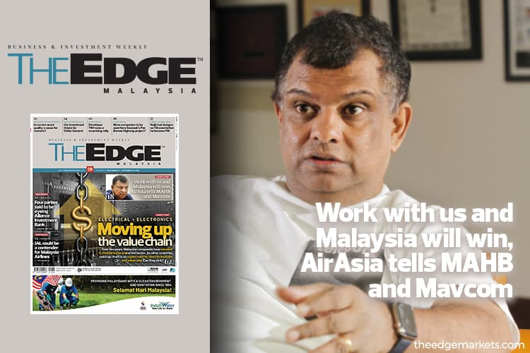 Work with us and Malaysia will win, AirAsia tells MAHB and Mavcom