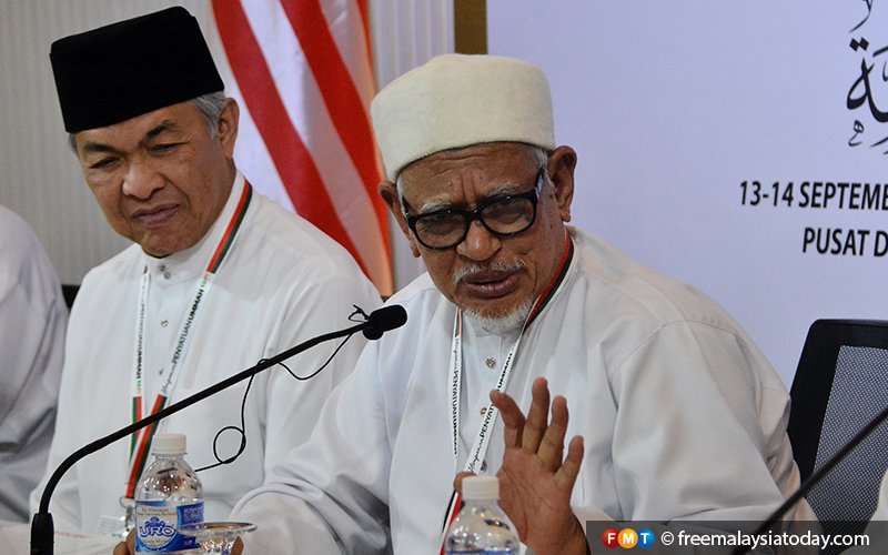 No clash during polls, says Hadi after signing of charter with Umno