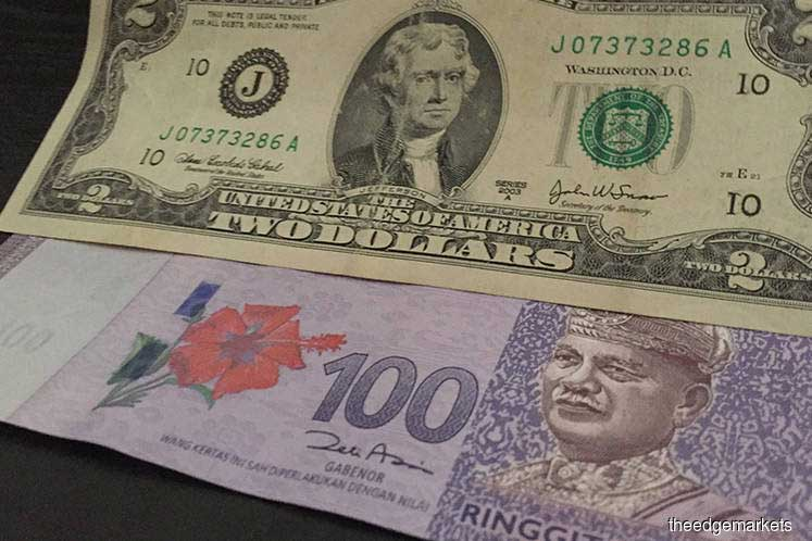 Ringgit seen at 4.26 versus USD amid trade war - UOB