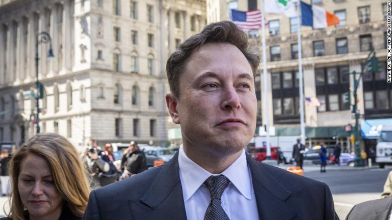 Elon Musk defends calling rescue worker a 'pedo'