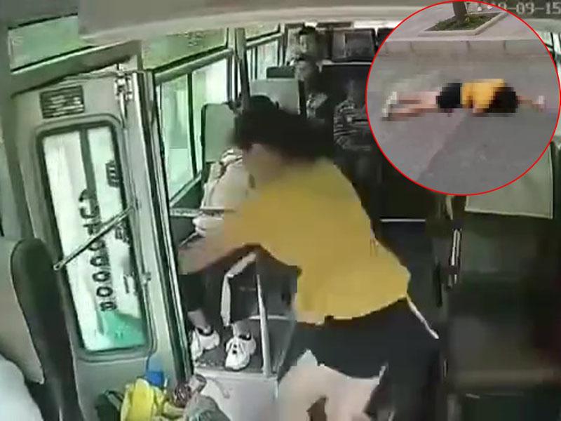 小巴车门未关女乘客突跳车身亡 原因未明