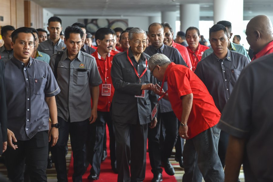 敦马宣布 土团党参与砂州选举