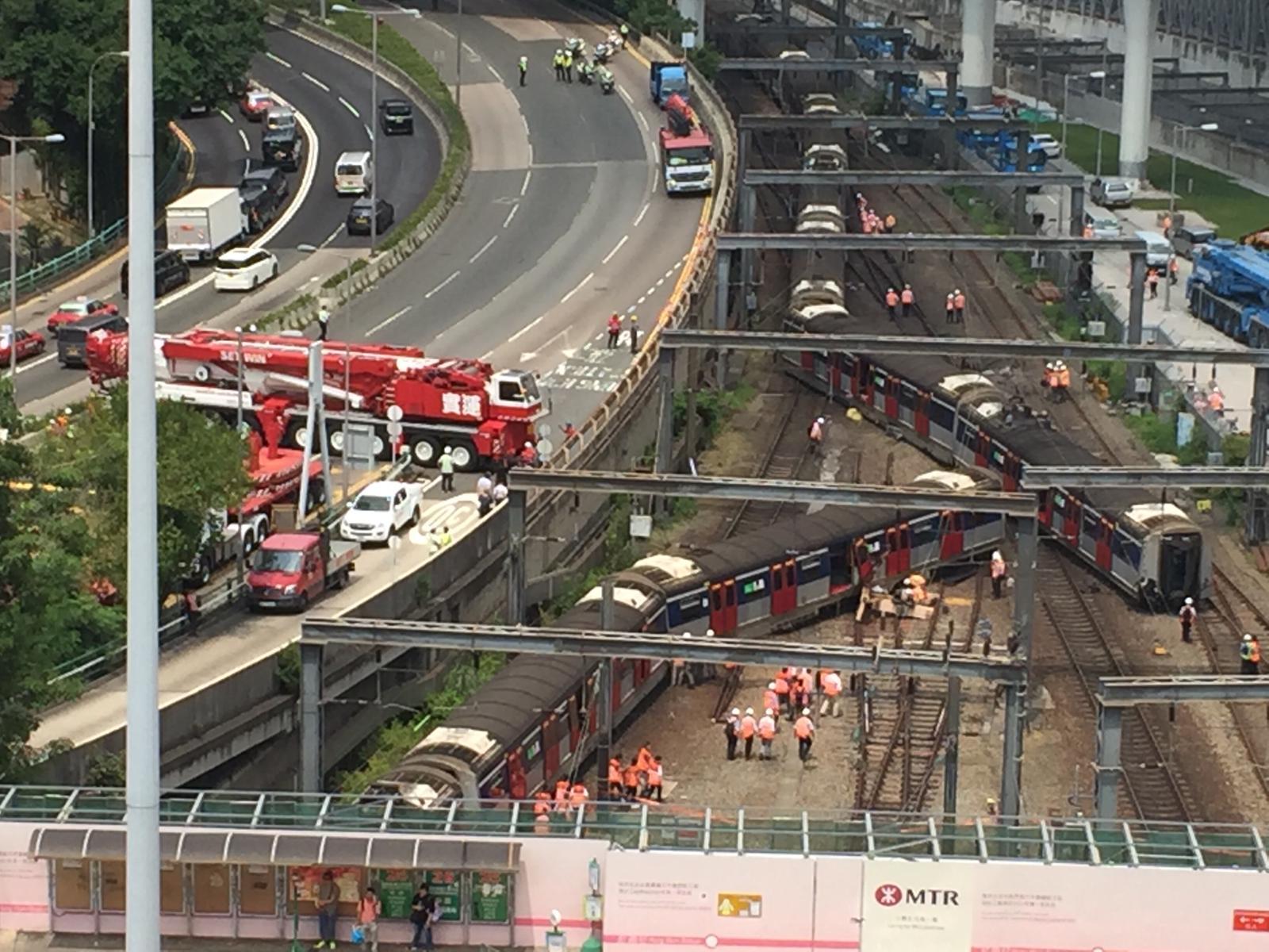【港铁出轨】陈恒鑌指乘客疏散混乱 陆颂雄忧铁路维修严重不足