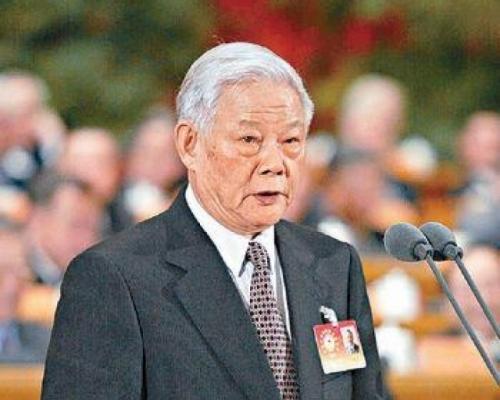原广东省长叶选平逝世 享年95岁