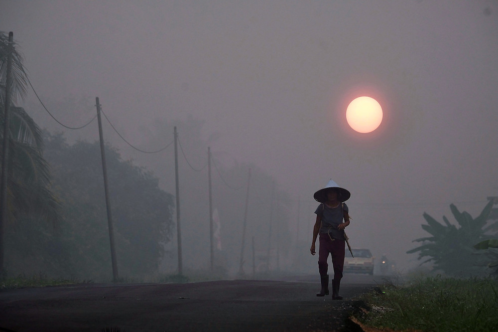 Haze situation improves in the country