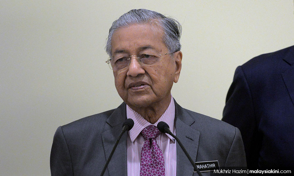 Jewish group protests Dr M's talk in New York campus