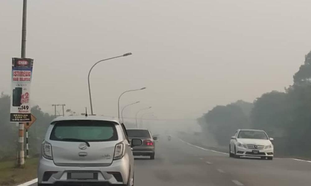 印尼热点续增加,大马43区空气不健康