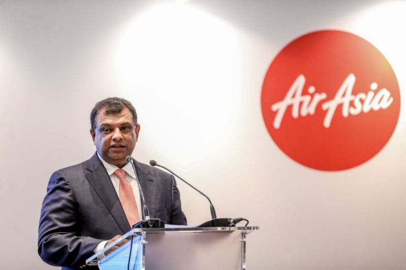 Tony Fernandes steps down from all posts except Airasia, Airasia X