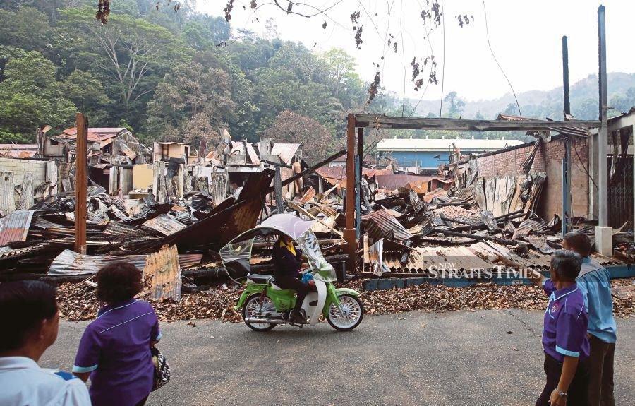 Sungai Lembing folk miss their iconic landmarks