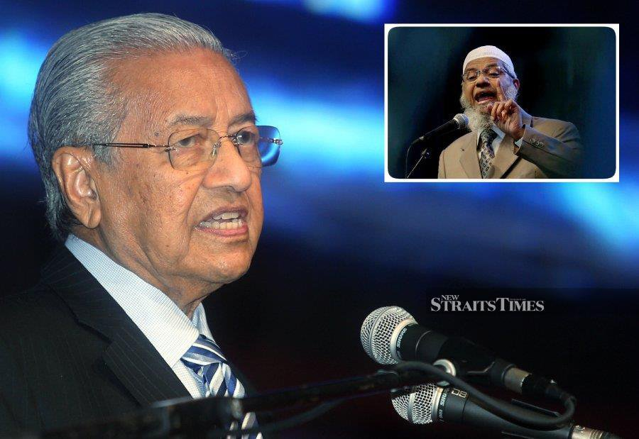 Dr M maintains Modi did not ask for extradition of Zakir Naik