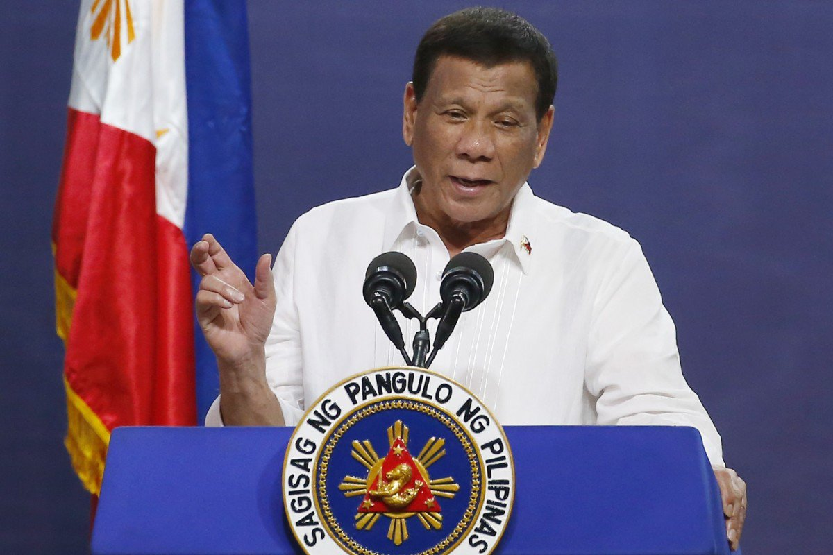 Philippines' Duterte confesses to ordering ambush, only for spokesman to say he 'misspeaks' Filipino