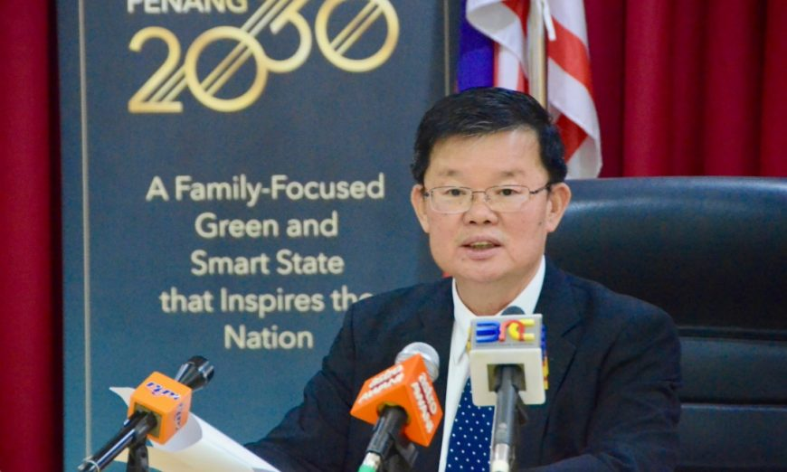 CM Chow dismisses report that EIA approval was obtained in 2 days