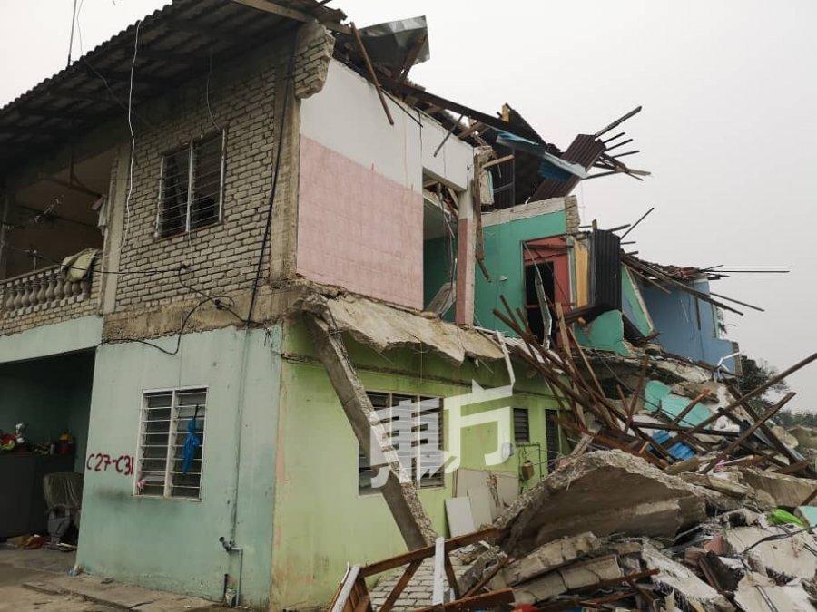 让路进行河道工程 双溪毛糯32间房屋遭拆除