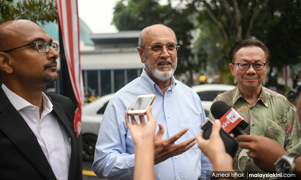 Ironic that cops question me in M'sia Baru, says ex-ambassador