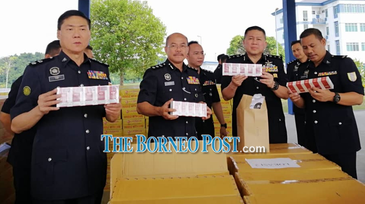 Contraband beer, cigarettes worth RM3.8 mln seized