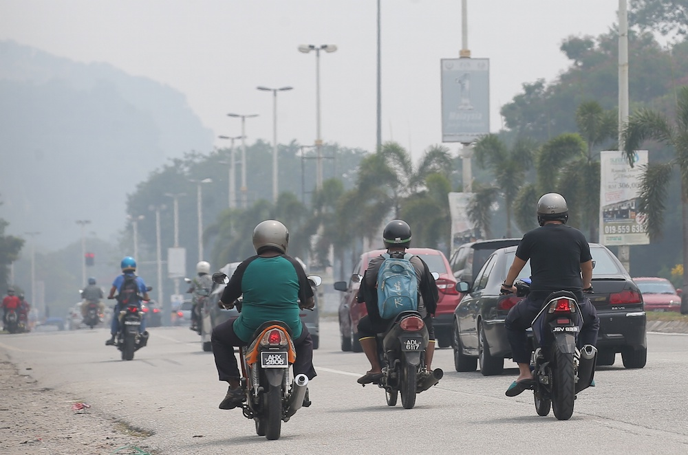 Two evening flights in Ipoh cancelled due to haze