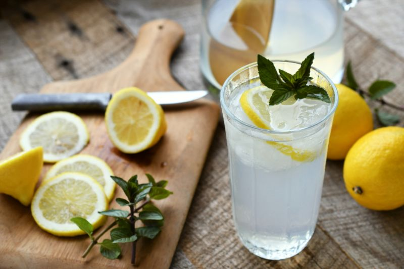 Adding a lemon to your drink might not be vegan and people are confused