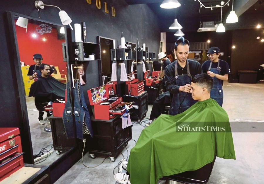 Business booming for modern barber shops