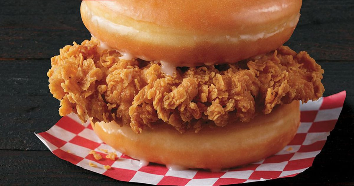 KFC Is Now Selling A Donut And Fried Chicken Sandwich