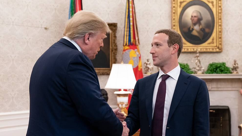 Commentary: Is Facebook cosying up to US President Donald Trump?