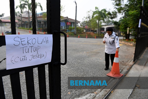 Haze: 2,649 schools to remain closed, asthma and conjunctivitis on the rise