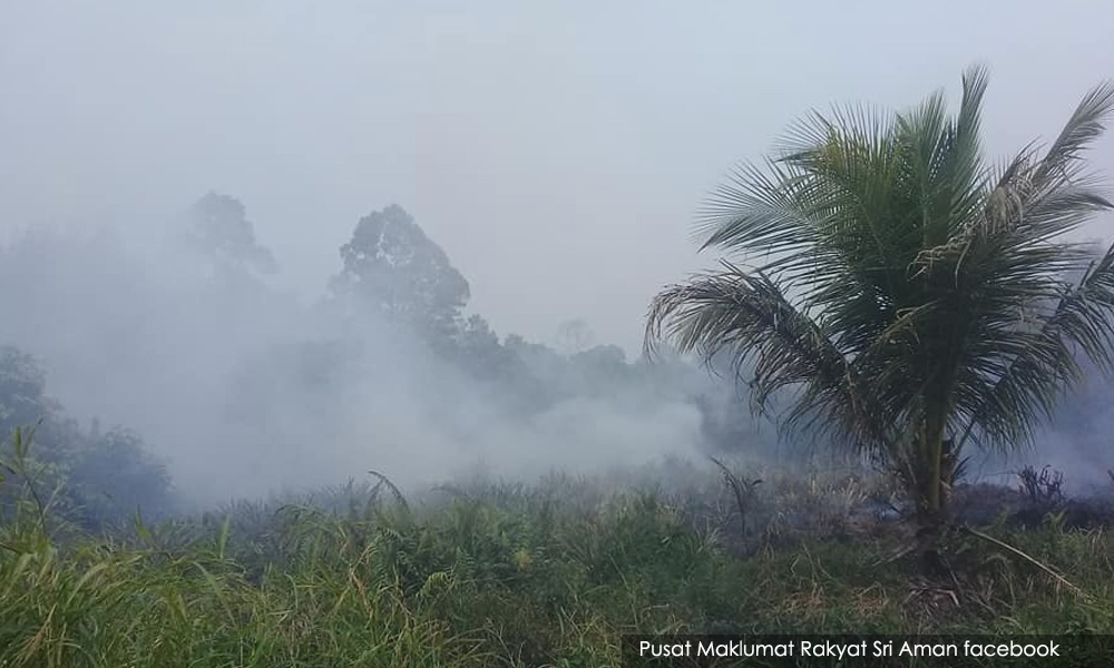 副揆:斯里阿曼六成林火已扑灭