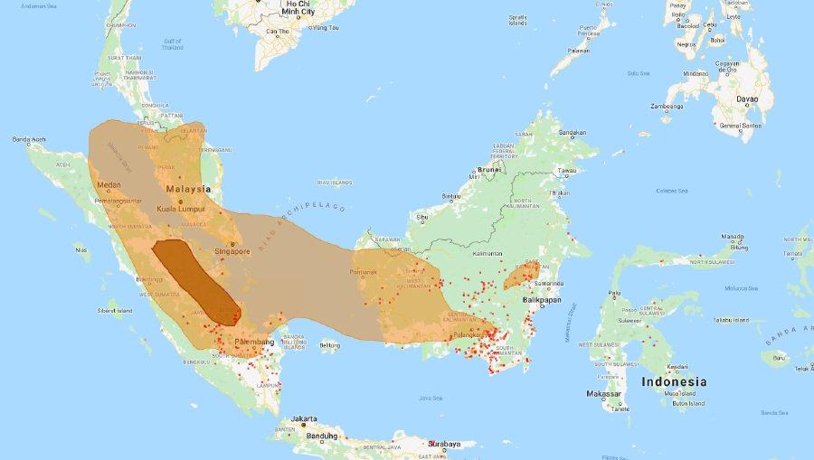 DoE: Number of hotspots in Sumatra, Kalimantan increases
