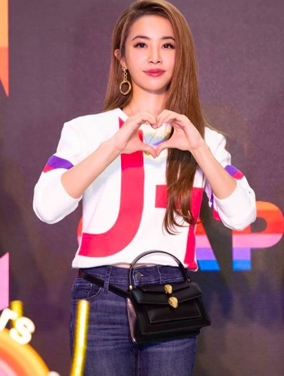 Jolin Tsai asks media to stop focusing on her breasts