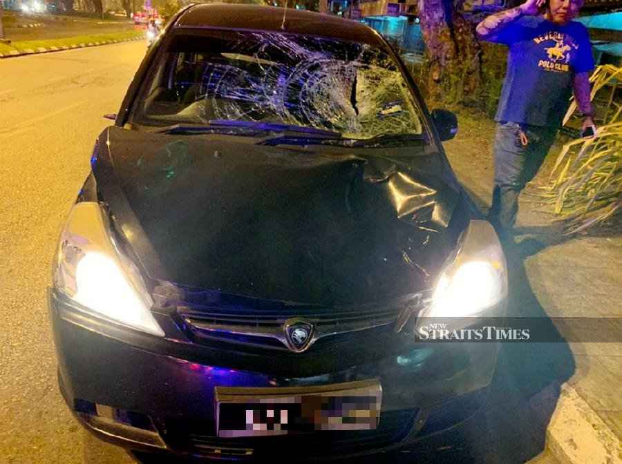 American tourist dies after car ploughs into him in Kuching