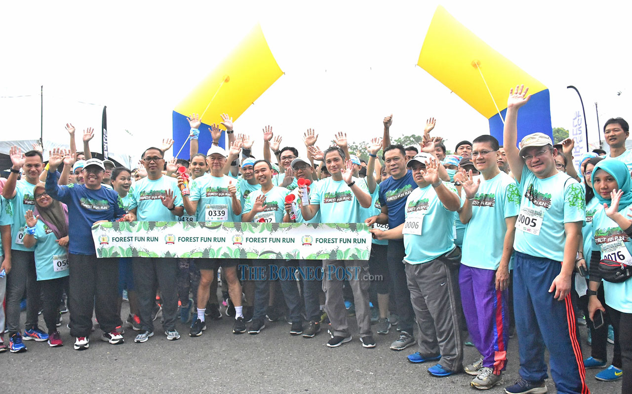 Forest Fun Run 2019 attracts 600 participants