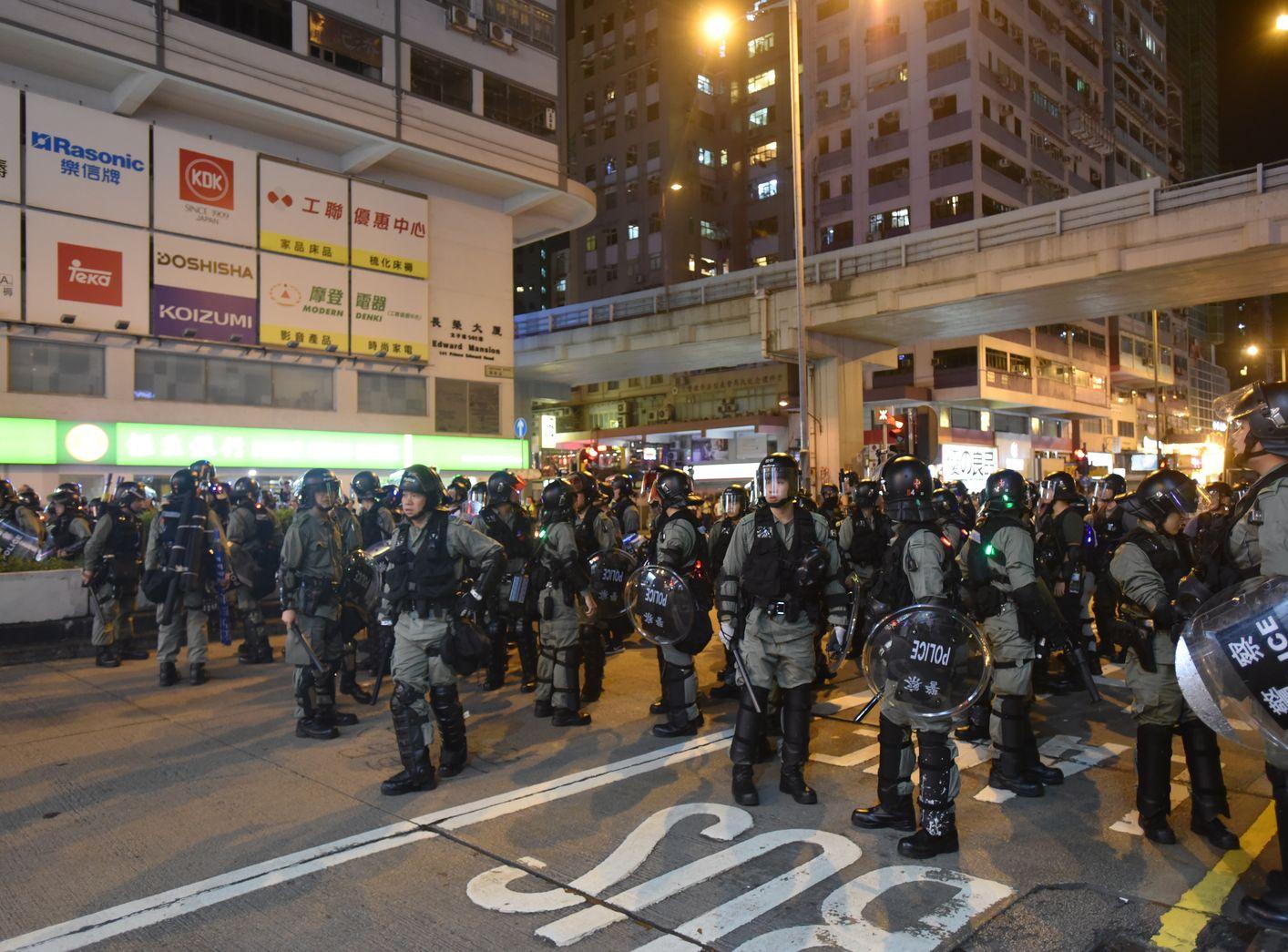 【修例风波】拘捕准则不考虑身份及政见 江永祥:不认同警方执法不公