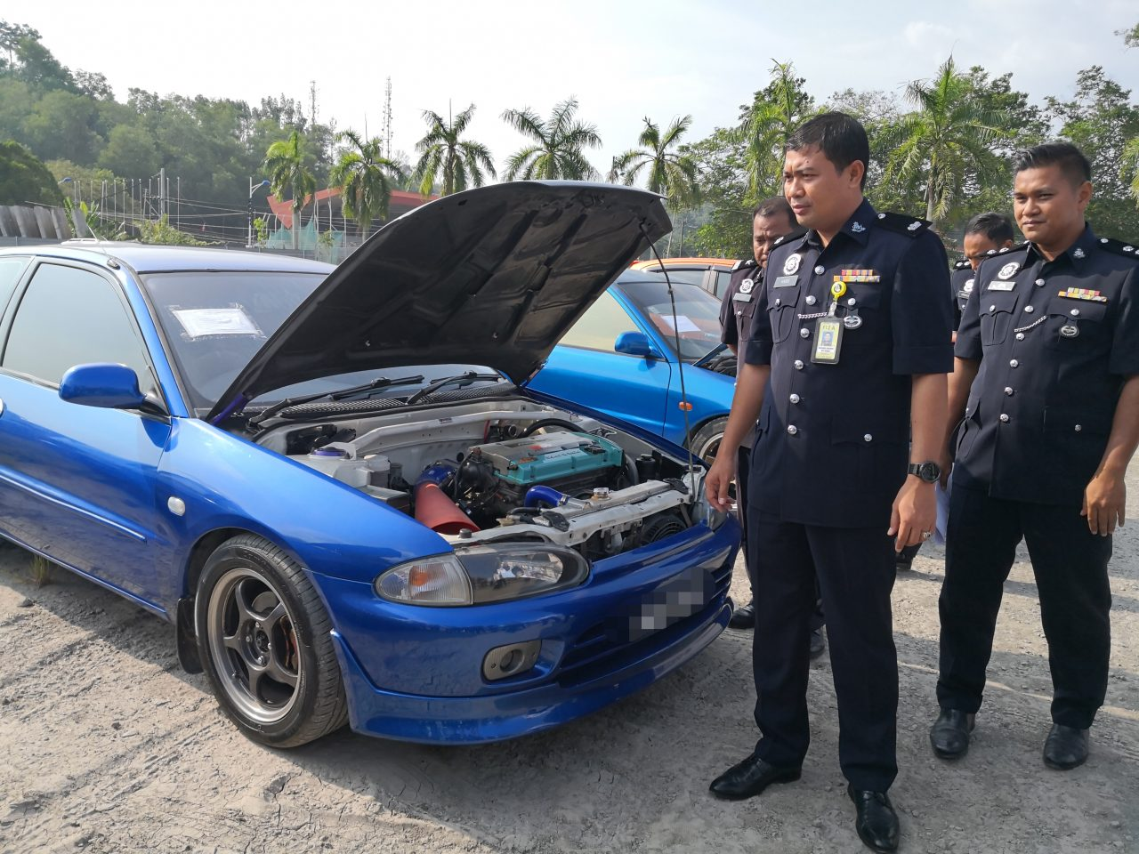 17 vehicles seized for dangerous driving