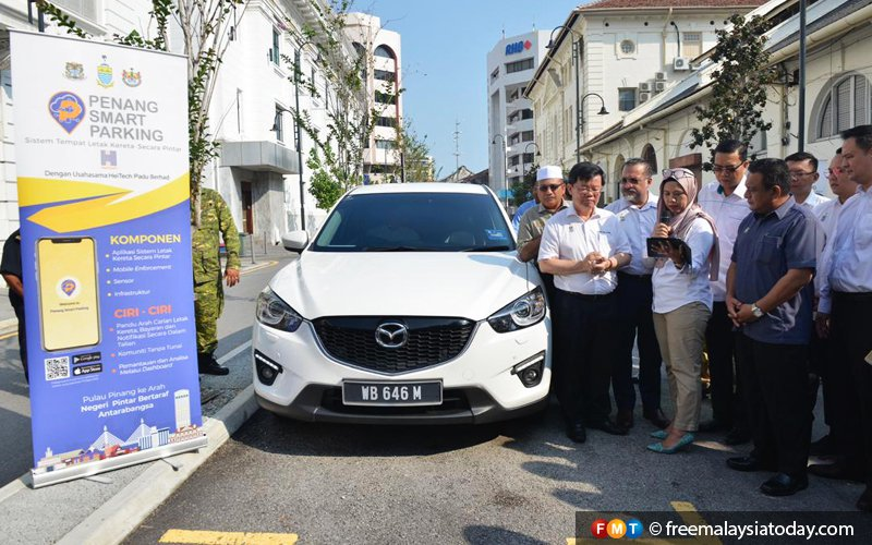 Penang's smart parking system all good after early hiccups