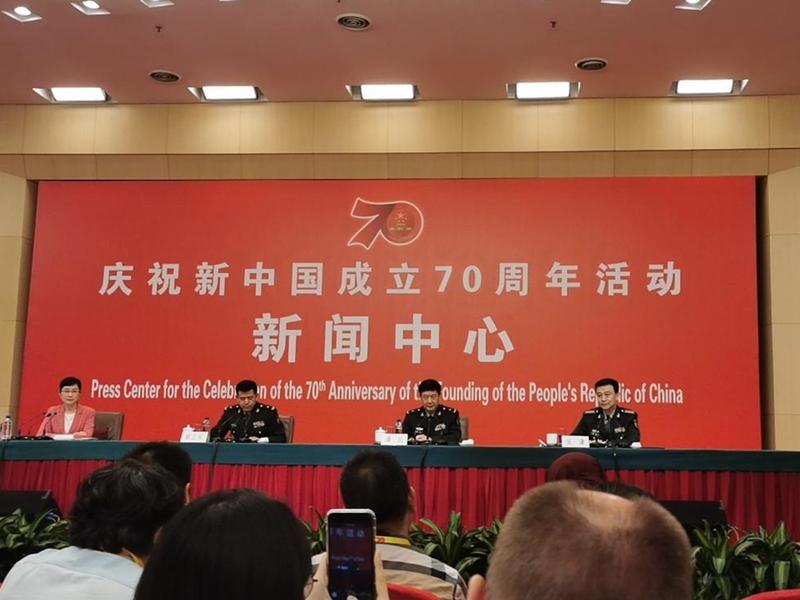 【国庆70周年】北京国庆阅兵歷时80分钟 参阅人员1.5万名