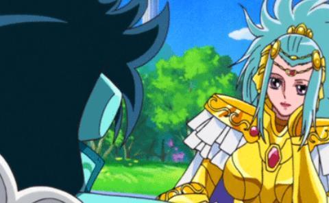 因为暗恋紫龙,她成为首位女黄金圣斗士