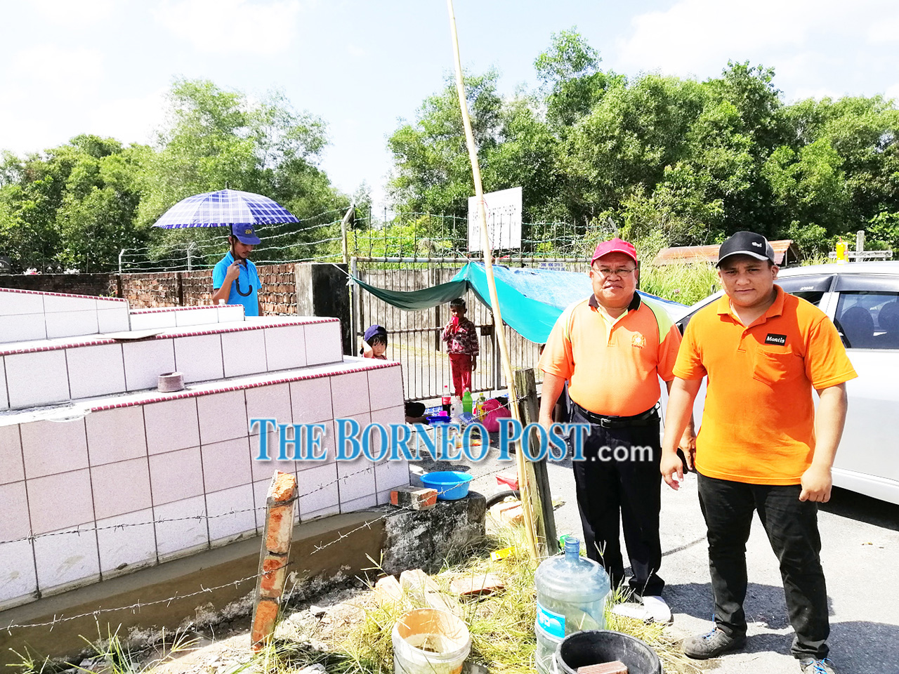 Desecrated tombs uncovers suspected illegal burials