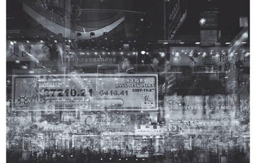 多重曝光璀璨夜景 繁盛都市的富贵病
